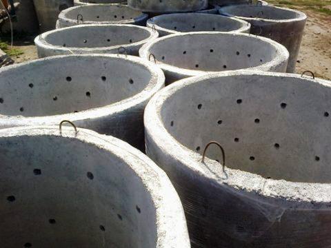 Колодцы из бетонных колец