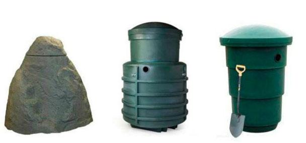 Модельный ряд септиков Green Rock