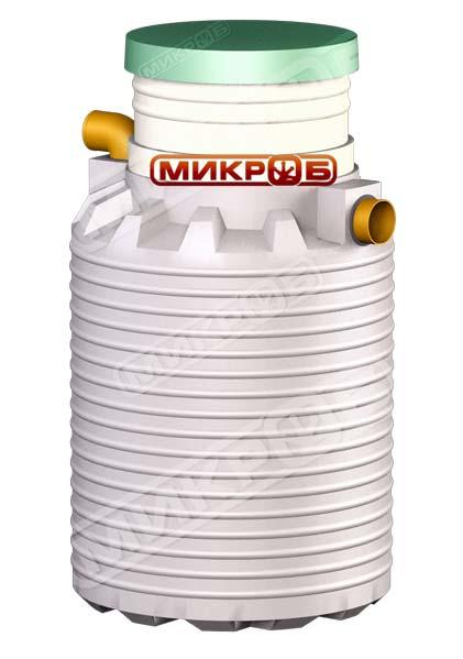 Внешний вид мини-септика Микроб 450