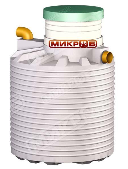 Внешний вид септика Микроб 750