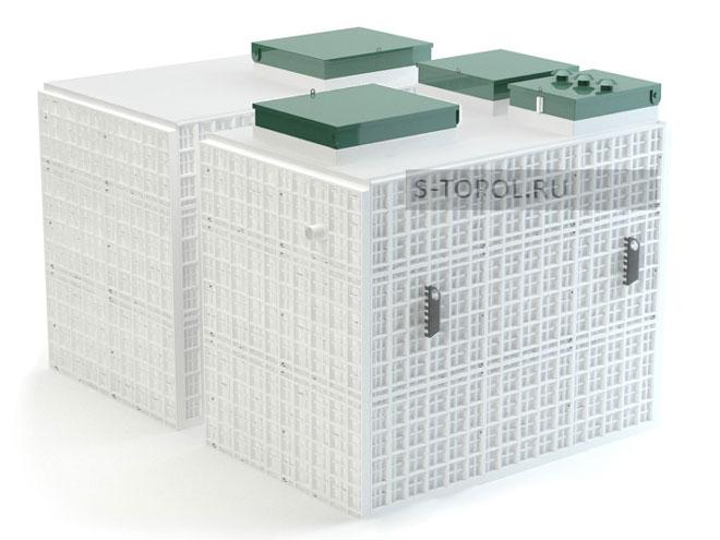 Внешний вид септика Тополь-100